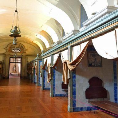 Inside the palace of Mafra.